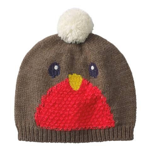 Boden Brown Festive Hat