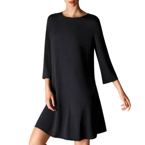 Wolford Black Fine Merino Dress