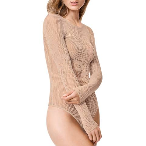 Wolford Toasted Almond Nellie String Body