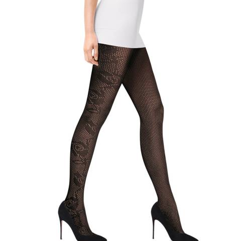 Wolford Black Nellie Tights
