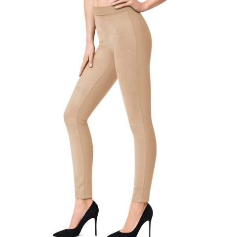 Wolford Toasted Almond Augusta Leggings