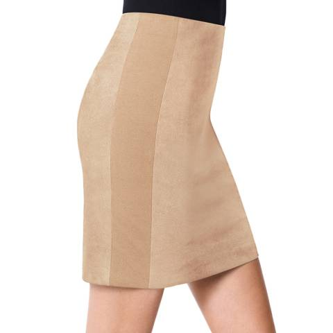 Wolford Toasted Almond Fitted Augusta Skirt