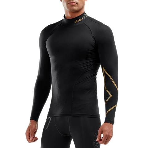 2XU Black Alpine Mcs Thermal Comp Top