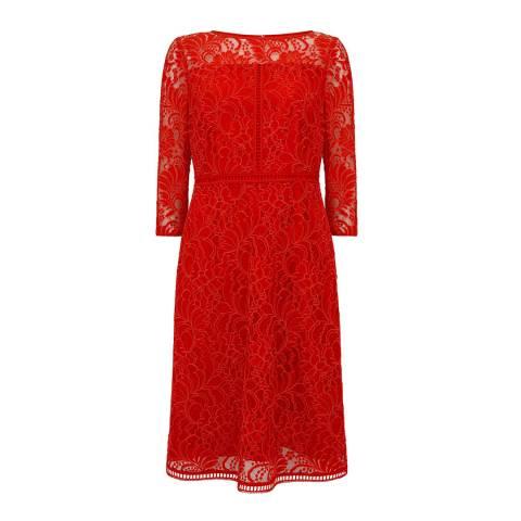 Mint Velvet Tomato Lace Dress