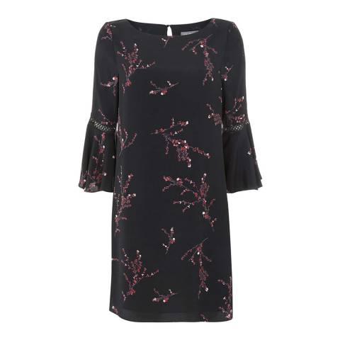 Mint Velvet Blossom Print Swing Dress