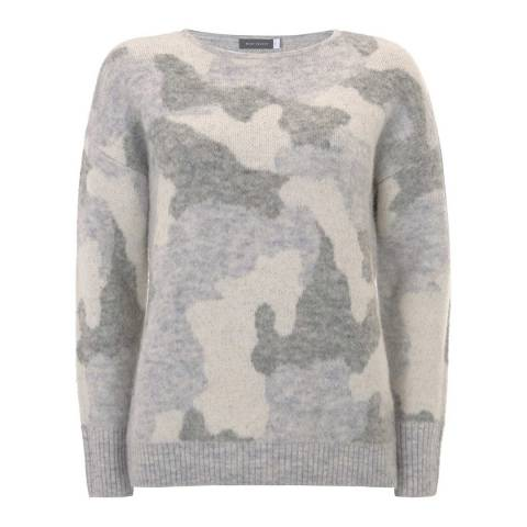 Mint Velvet Camouflage Intarsia Knit