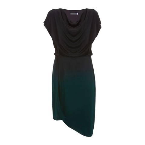 Mint Velvet Cowl Neck Ombre Dress