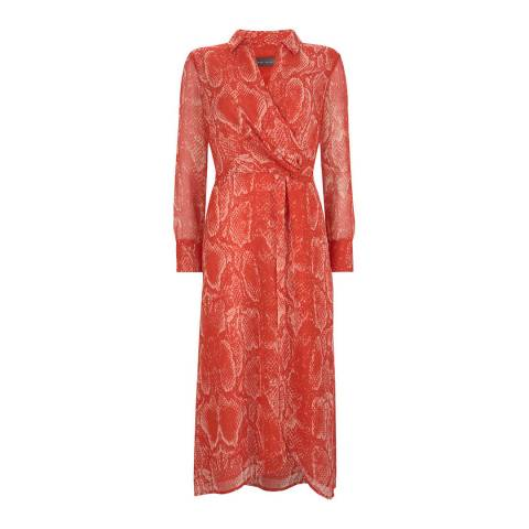 Mint Velvet Tori Print Midi Shirt Dress