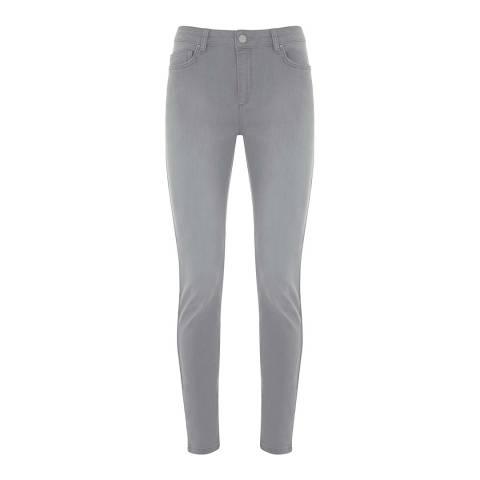 Mint Velvet Paxton Light Grey Jean