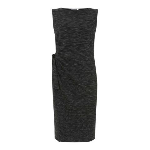 Mint Velvet Granite Tie Front Midi Dress