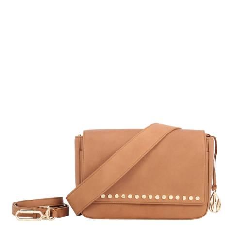Amanda Wakeley Tan The Carter Crossbody Bag