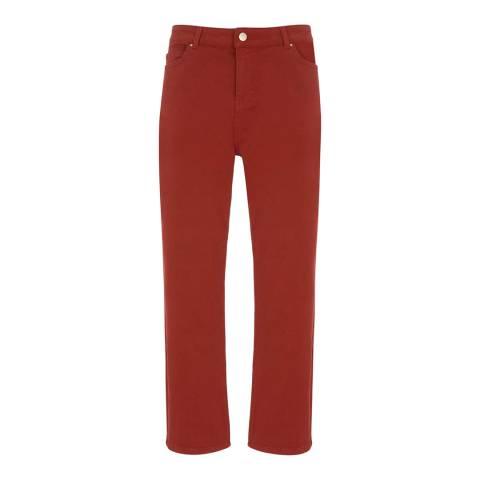 Mint Velvet Meribel Cherry Straight Jean