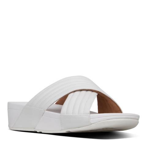 FitFlop Urban White Lulu Padded Slide