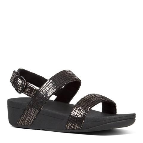 FitFlop Black Lottie Chain Print Sandals