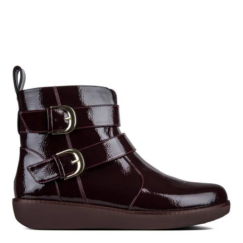 FitFlop Berry Laila Double Buckle Ankle Boots