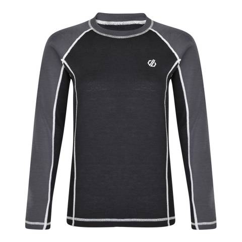 Dare2B Black/Grey Advanced Wool Mix Base Layer Set