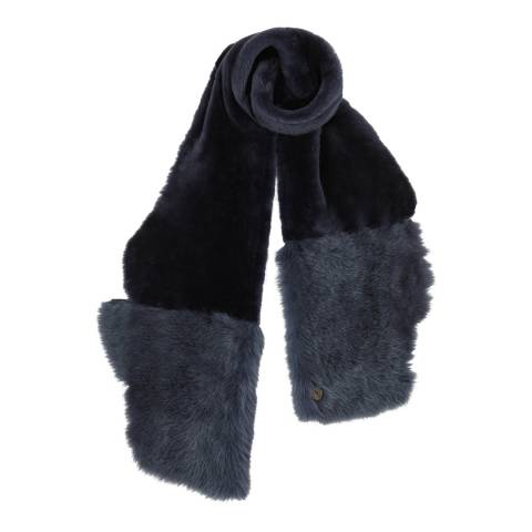 Gushlow & Cole Meteor Baby Mixed Shearling Scarf