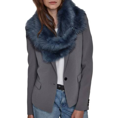 Gushlow & Cole Meteor Mini Two Button Shearling Scarf