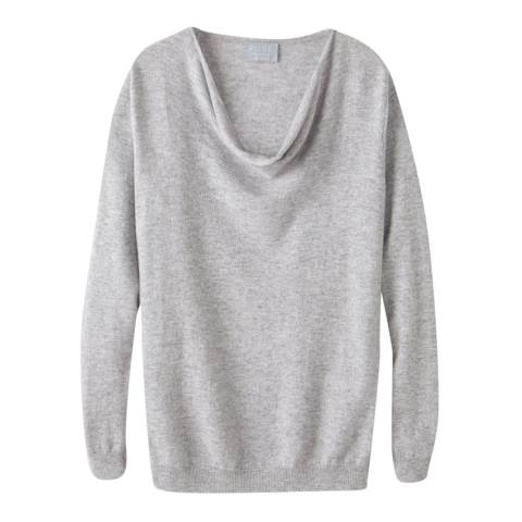 Pure Collection Heather Dove Drape Cashmere Jumper