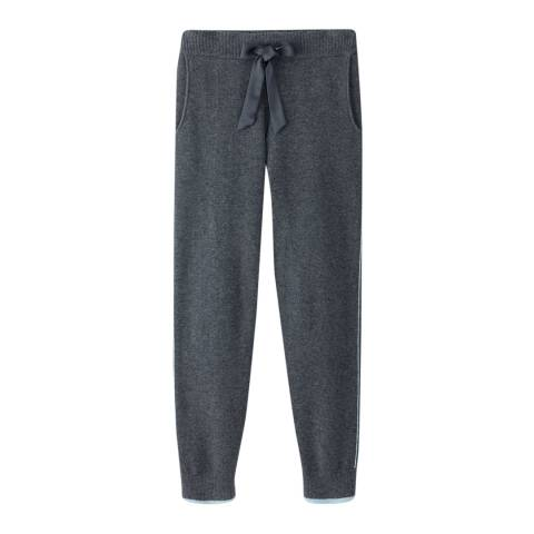 Pure Collection Charcoal/Opal Cashmere Joggers