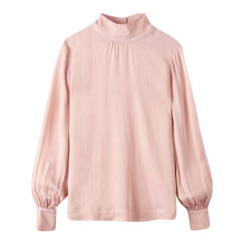 Pure Collection Rose High Neck Blouse