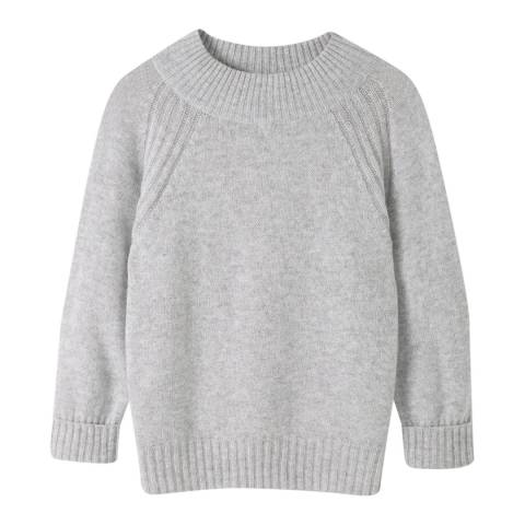 Pure Collection Heather Dove Lofty Cashmere Jumper
