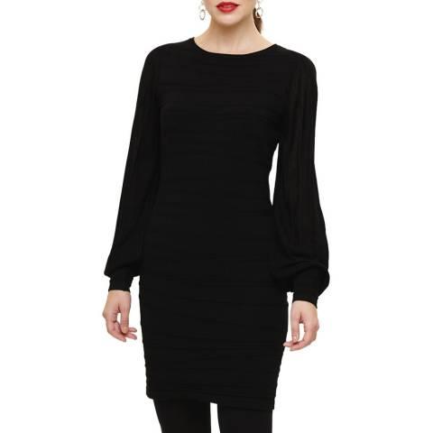 Phase Eight Black Benita Knit Dress