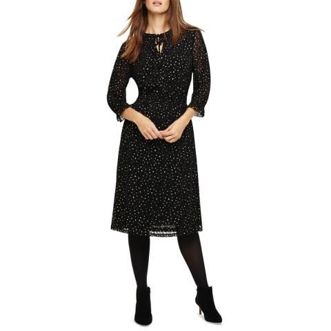 Phase Eight Black/Gold Francheska Dress