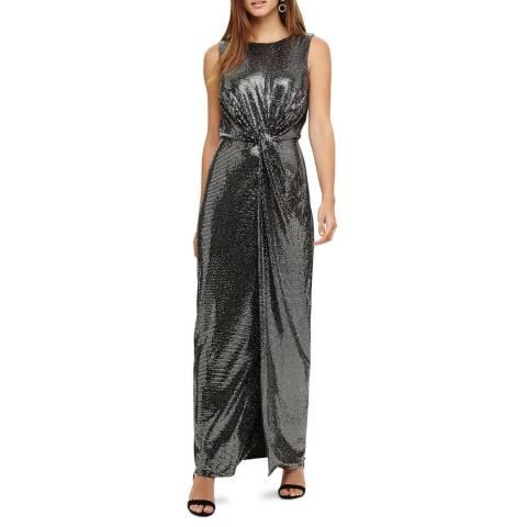 Phase Eight Silver Dahlia Shimmer Maxi Dress