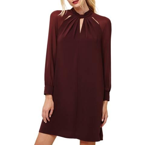 Phase Eight Burgundy Carolina Dress