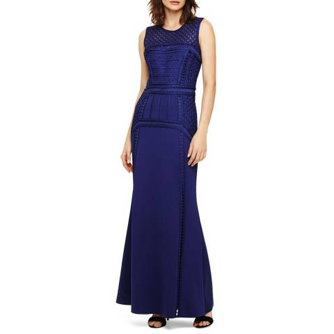 Phase Eight Blue Davina Maxi Dress