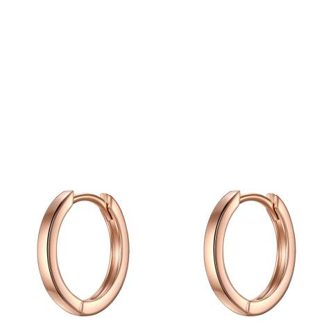 Carat 1934 Rose Gold Hoop Earrings