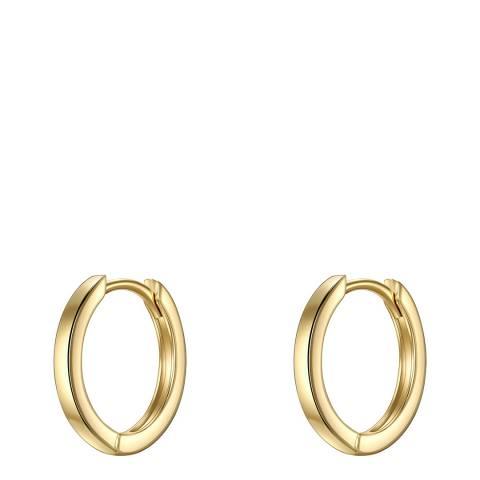 Carat 1934 Gold Hoop Earrings