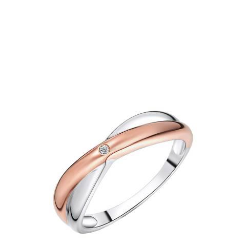 Tess Diamonds Rose Gold/Silver Ring
