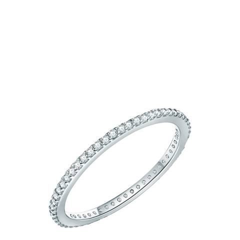 Carat 1934 Silver Crystal Ring
