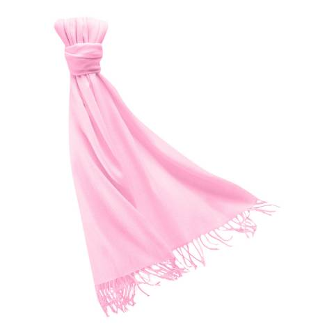 Pure Collection Blossom Pink Pashmina Shawl