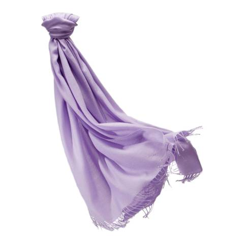 Pure Collection Lilac Pashmina Shawl
