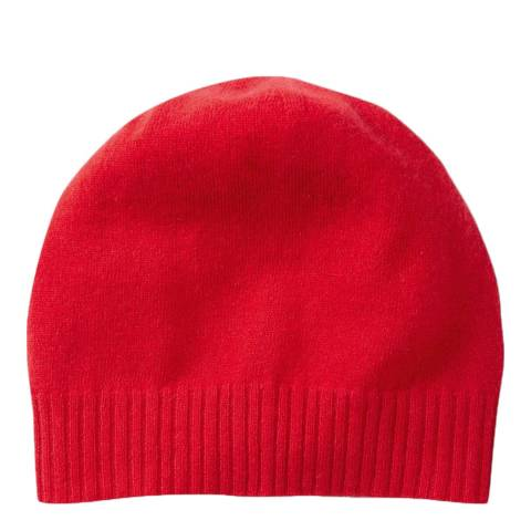 Pure Collection Pillarbox Red Cashmere Hat