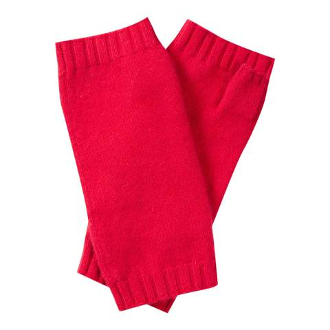 Pure Collection Pillarbox Red Cashmere Mitts