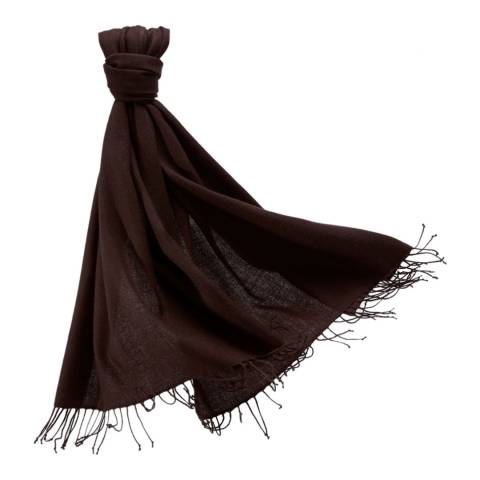 Pure Collection Rich Chocolate Pashmina Stole
