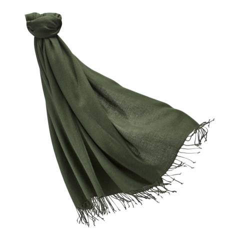 Pure Collection Khaki Pashmina Stole