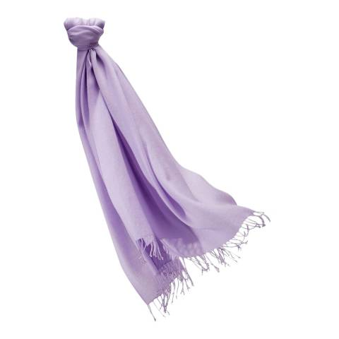 Pure Collection Lilac Pashmina Stole