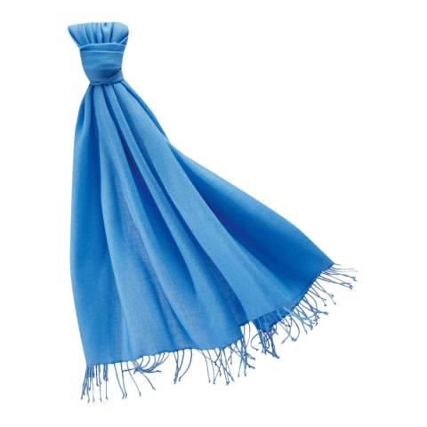 Pure Collection Denim Blue Pashmina Stole