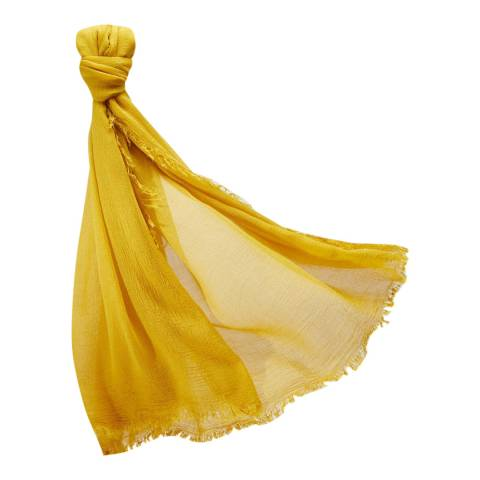 Pure Collection Amber Ultra Soft Gauzy Scarf