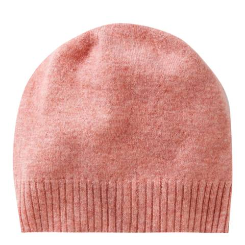 Pure Collection Rose Marl Cashmere Hat