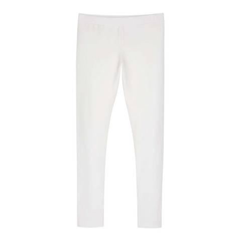 Mint Velvet Ivory Star Embroidery Leggings