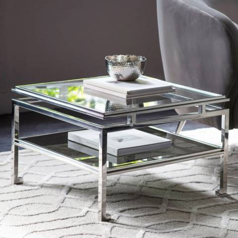 Gallery Cosenza Side Table Silver