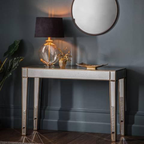 Gallery Pattington Mirror Console/Desk Table