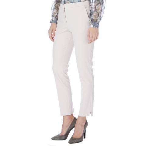 Reiss Light Pink Jos Slim Trousers
