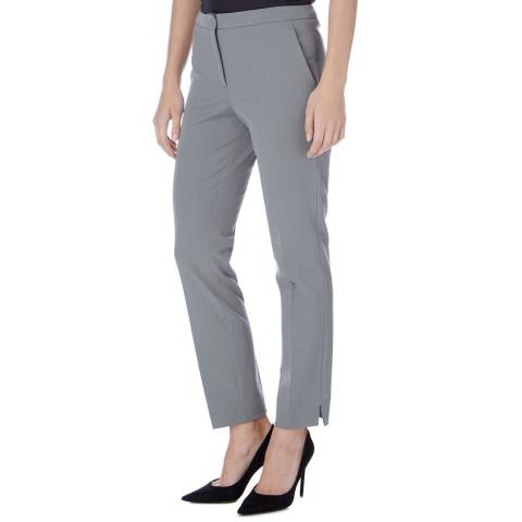 Reiss Grey Jos Slim Trousers